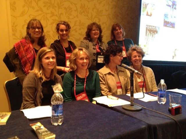 This was actually at AASL the weekend before, but I SO loved being on a panel with these ladies. We spoke on using books to teach resilience and compassion: (1st row:) Jo Knowles, Kimberly Newton Fusco, Nora Raleigh Baskin, Karen Day, (2nd row:) Leslie Connor, Erin Moulton, Me, Cynthia Lord  (not pictured: Moderator, Susannah Richards)
