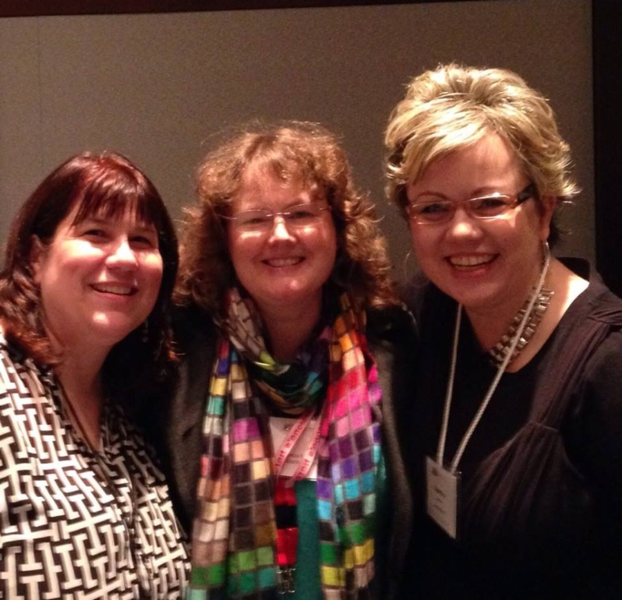 Love these ladies!  Alyson Beecher and Cynthia Alaniz . SO fortunate to attend their panel :-)