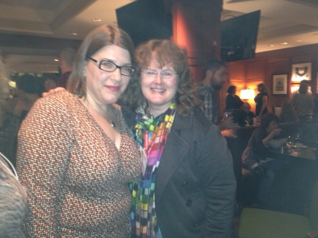 Meeting the great Donalyn Miller, co-founder of The Nerdy Book Club and renowned author, was such a pleasure. A sweet author moment for me.