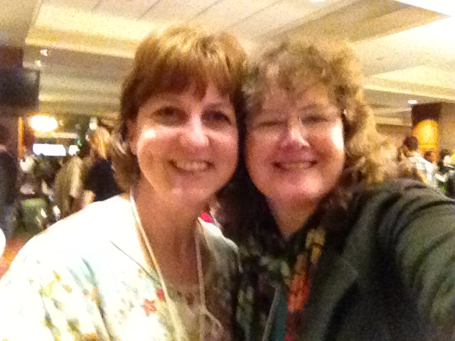 Here I am with Gigi McAllister!! Yeah :-)