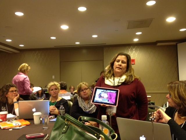Nerdy presenter, Katherine Sokolowski :-)
