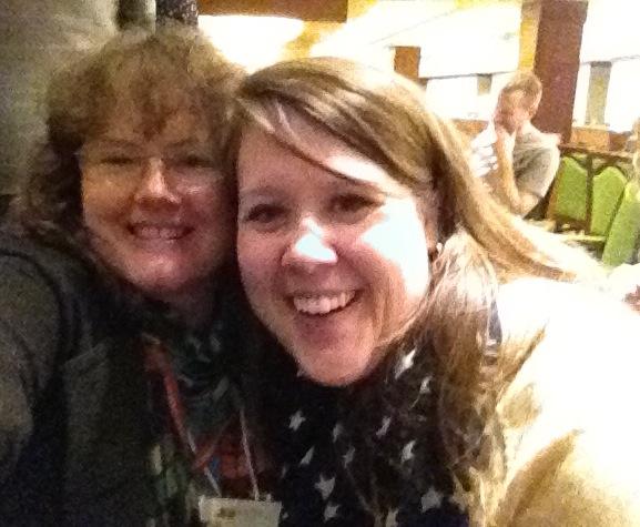 I got to meet Melissa Guerrette! Yeah! :-)