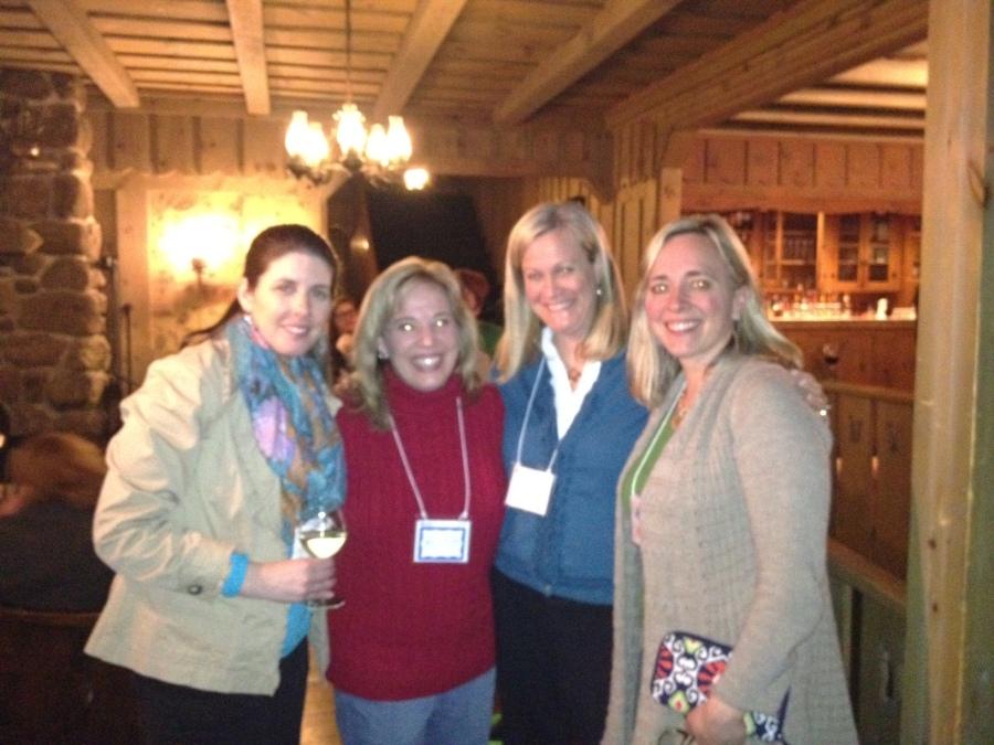 Jill Dailey, Kristin Russo, Nancy Tandon, and Holly Howley :-)