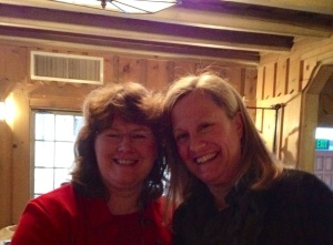 With Nancy Tandon :-)