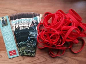 GRA bookmarks and bracelets