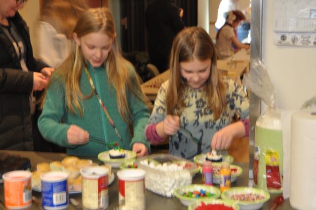 Cupcake making!