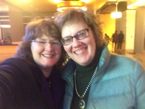 With me in spirit - my fantastico agent, Erin Murphy :-)