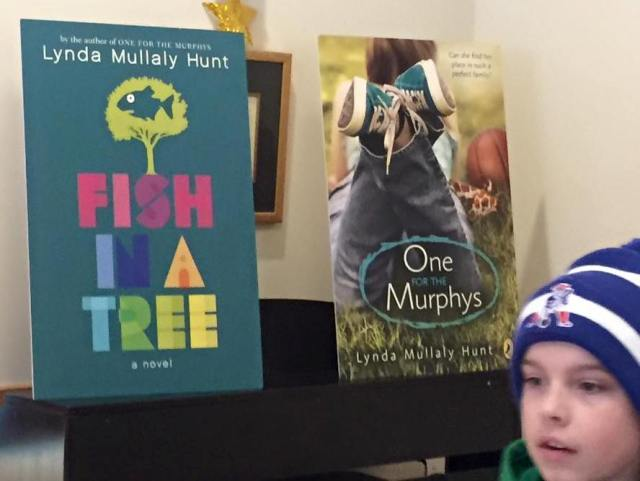 Book poster and a shot of a young man who would prove to be very good at fishing.