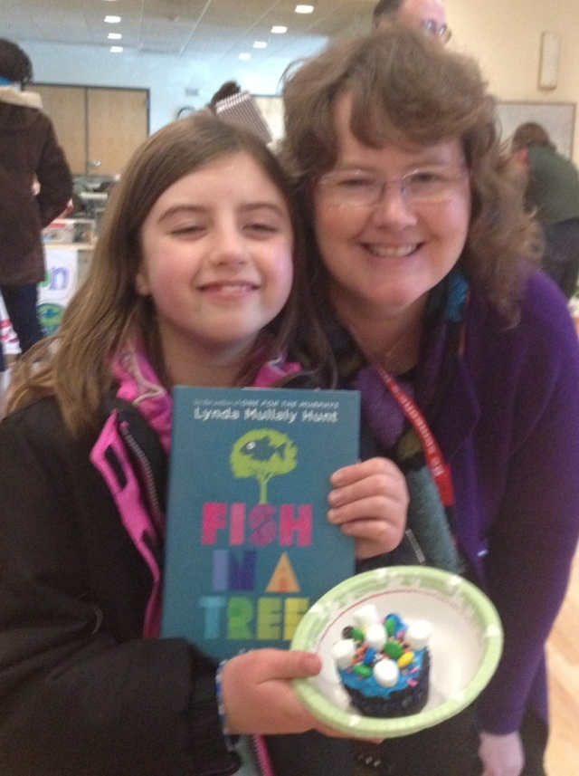 I love to meet young readers! ((photo: Karin LeFranc)