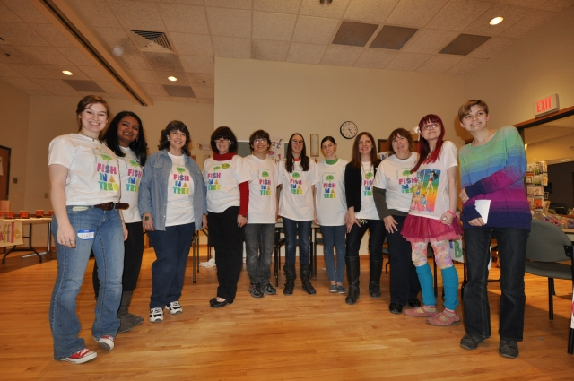 Some of our FANTASTICO volunteers!