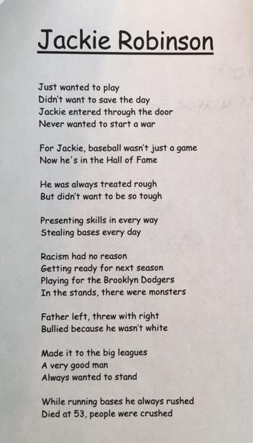 jackie poem