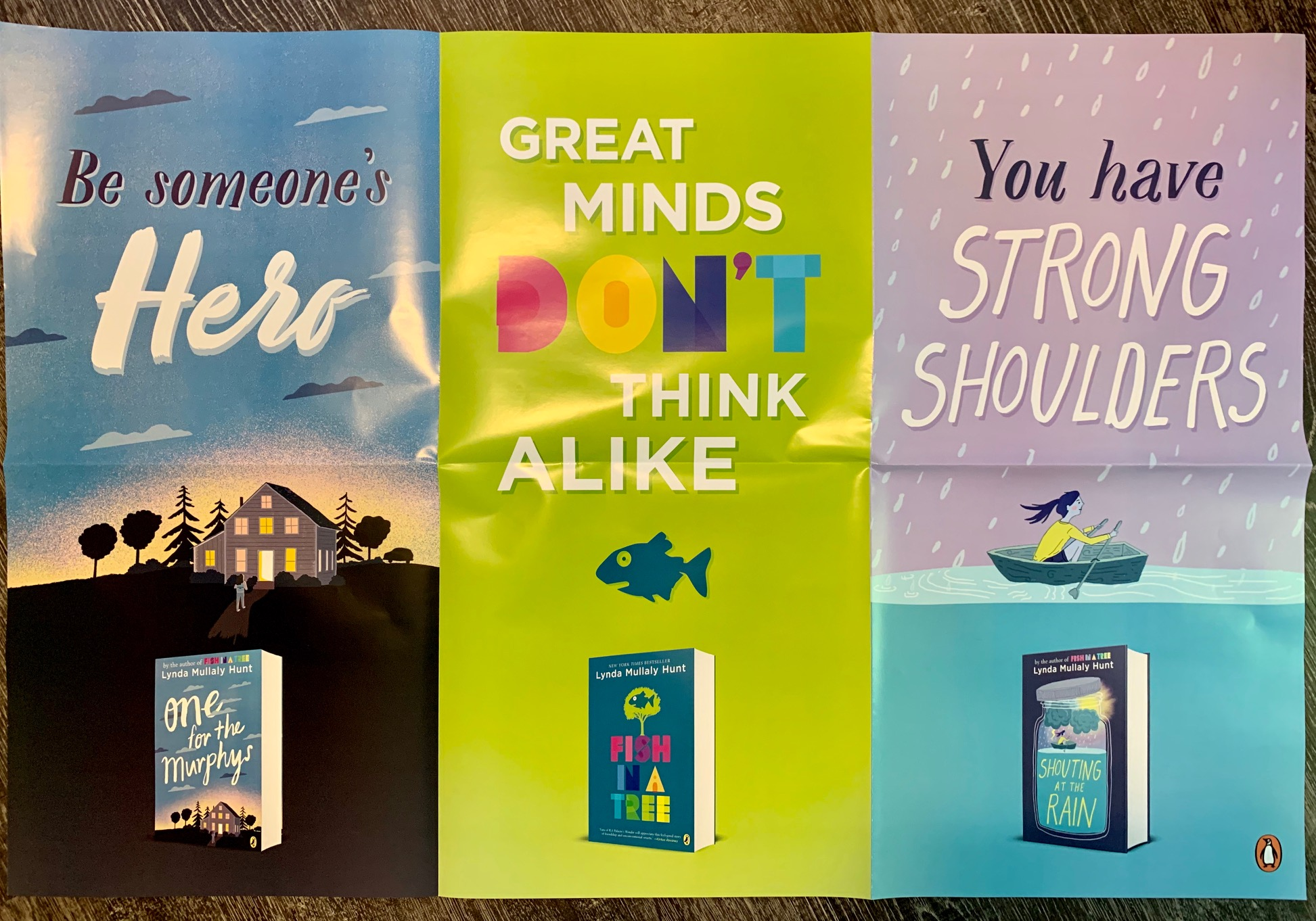 Poster 3 books